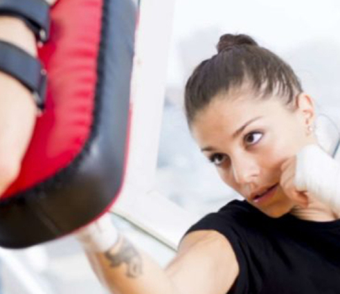 Boxing fitness combo